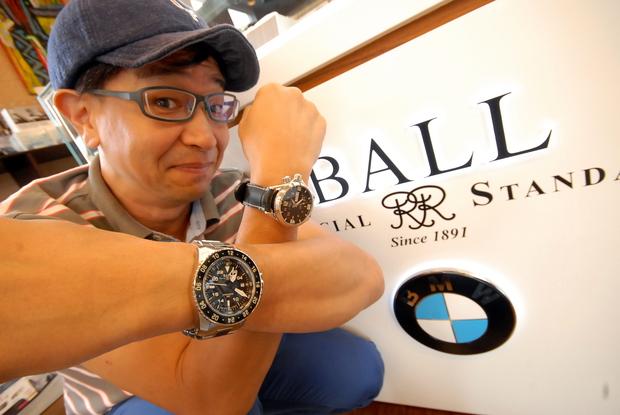 Q様 AERO GMT Studie BALL Watch.JPG